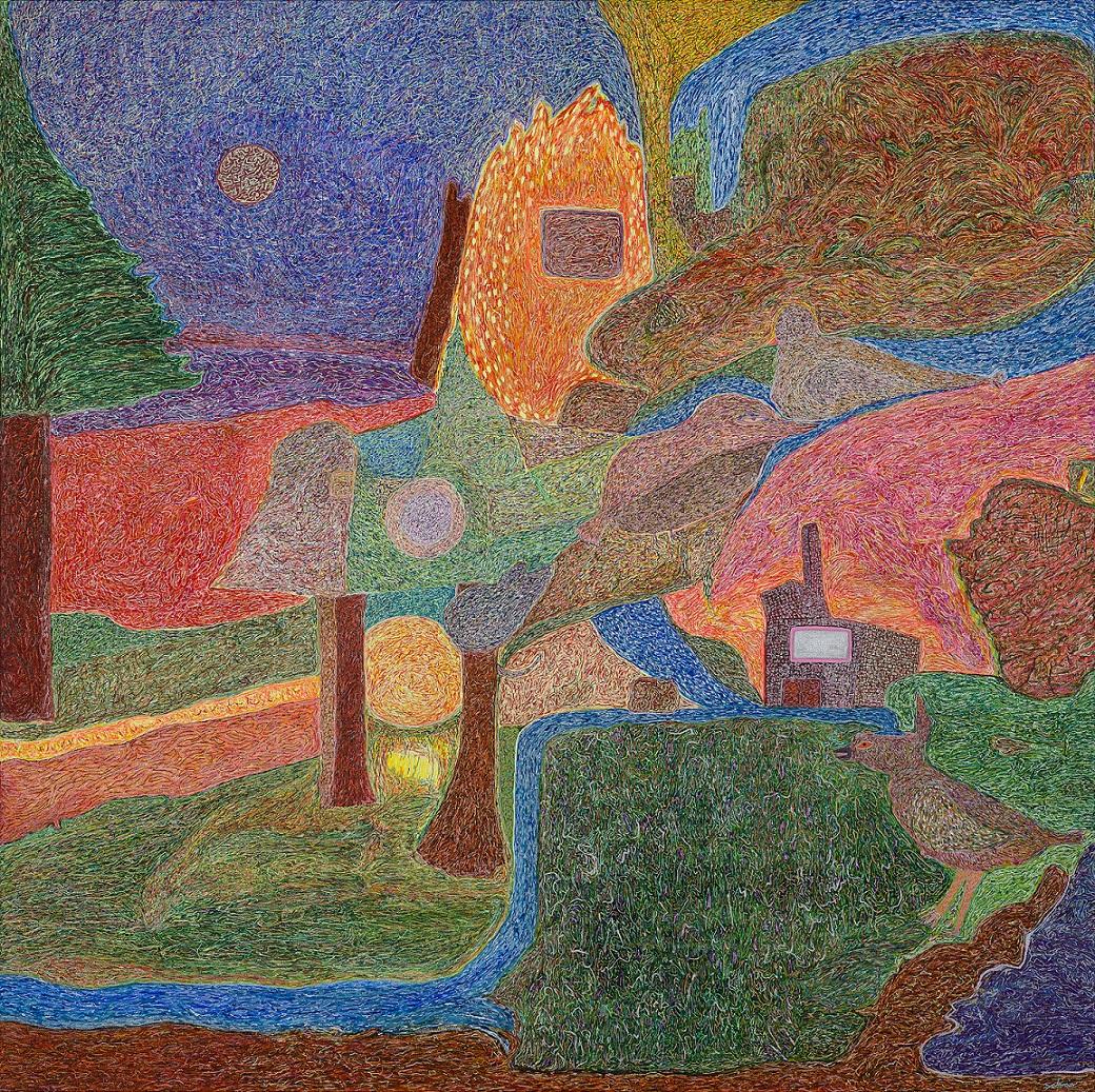 תערוכת אמנות של זוהר סקטר: כשהאור פוגש את החושך