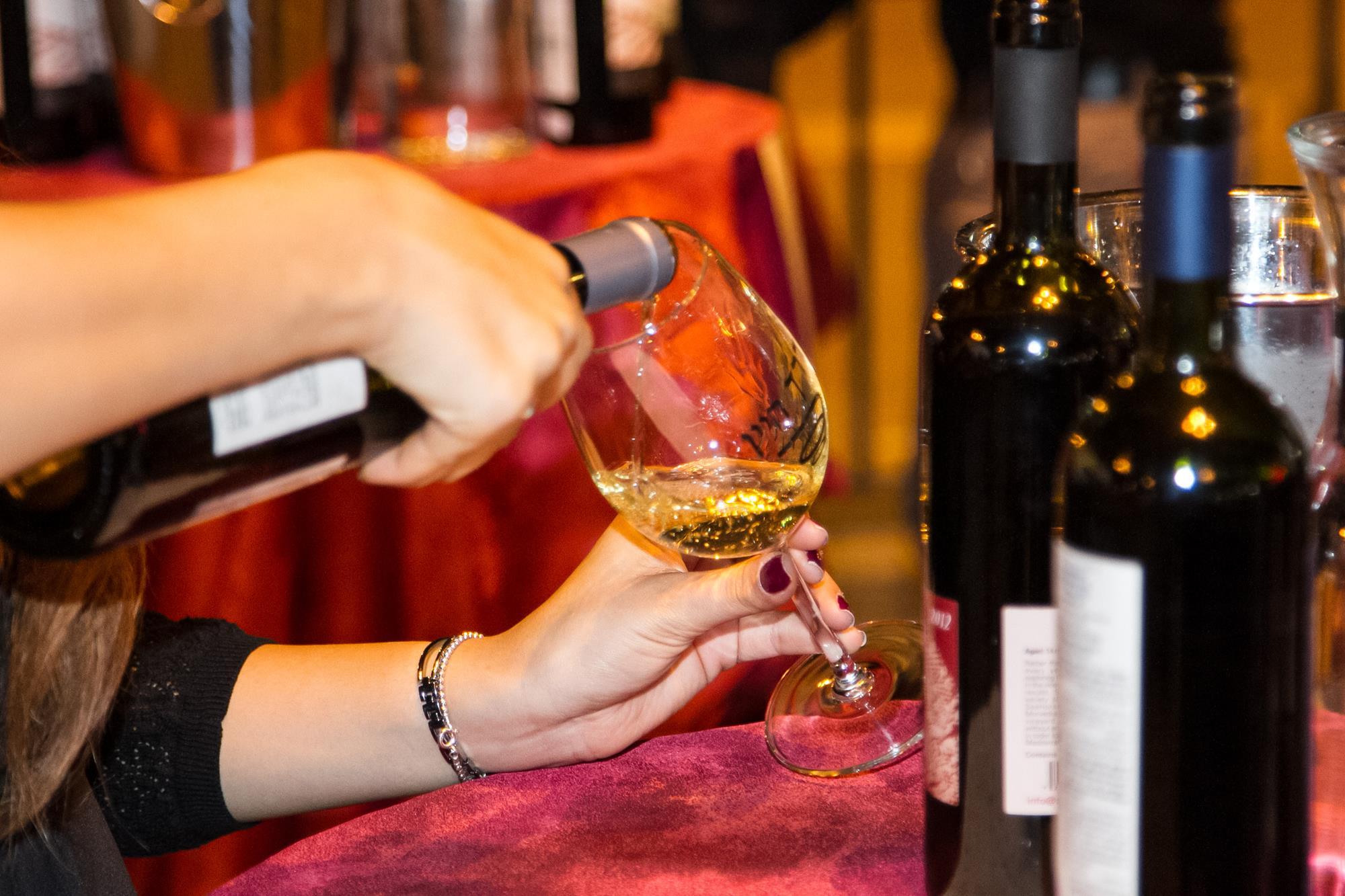 יריד יין ואלכוהול חורפי בסנטר