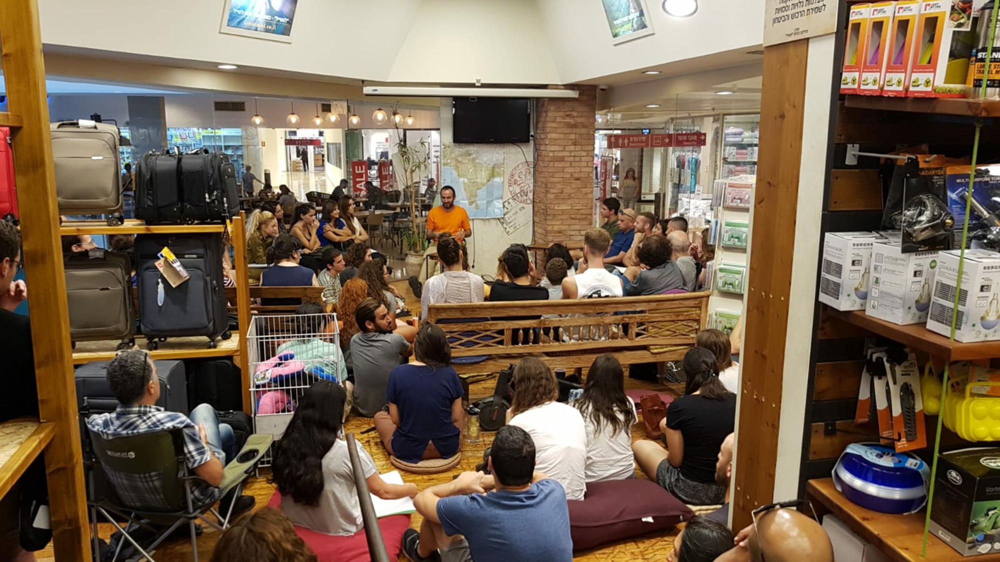 הרצאה בלמטייל – דרום אמריקה